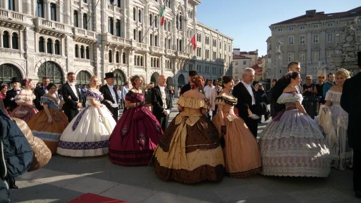 Trieste . celebrazioni in onore di Maria Teresa d'Austria - 13 maggio 2017 - foto BM